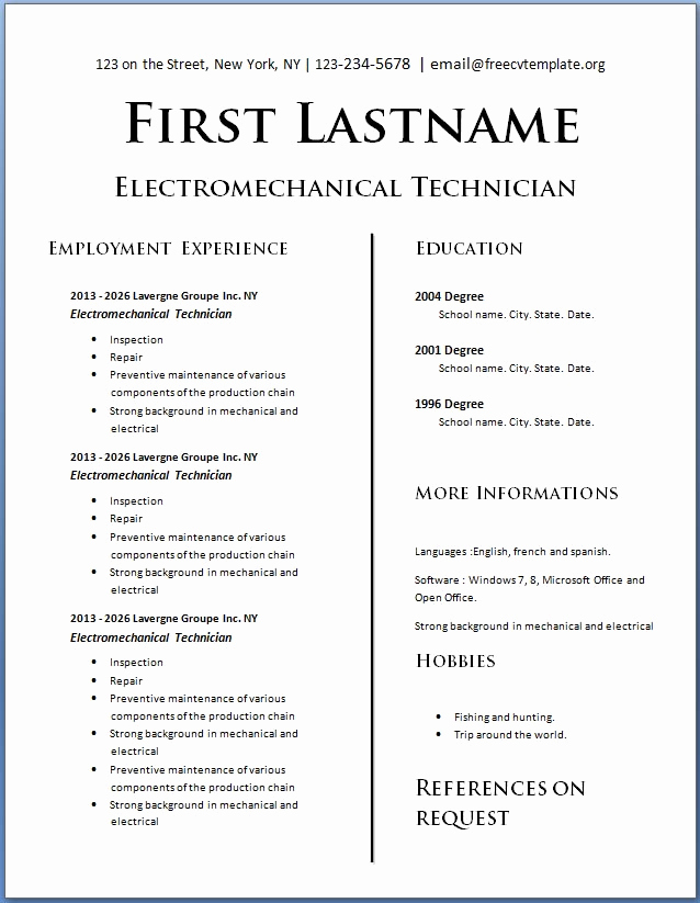Resume Templates for Teens Best Of Teens with No Experience Cv Template
