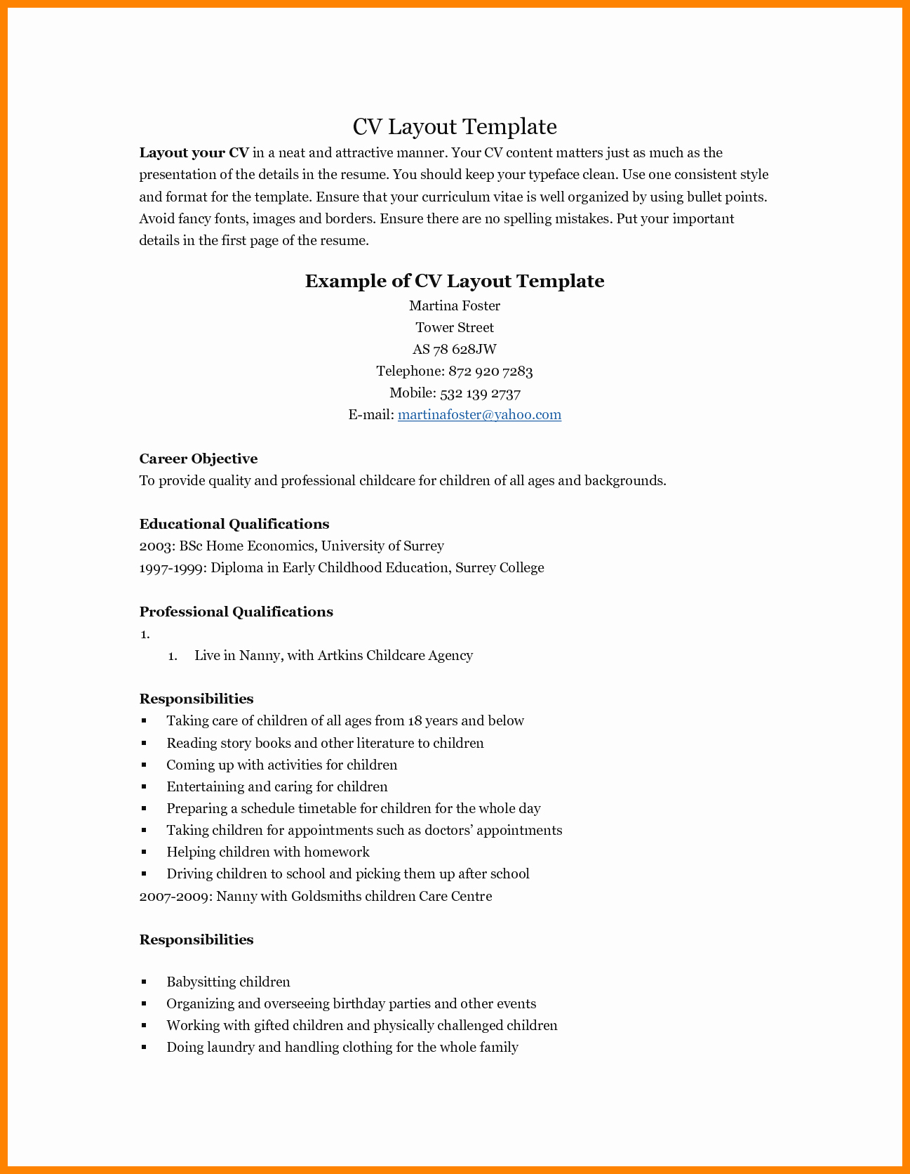 Resume Templates for Teens Fresh 5 Resume Example for Teenagers