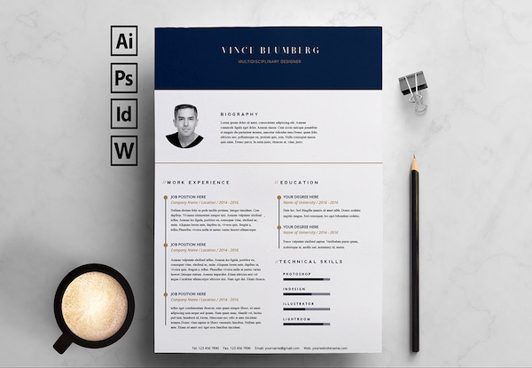 Resume Templates Free Word Fresh 15 Free Resume Templates for Microsoft Word that Don T