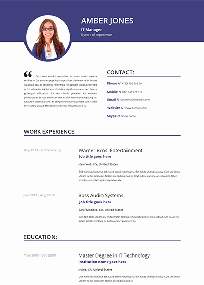 Resume with Picture Template Beautiful Resume Republic Resume Templates Resume Republic