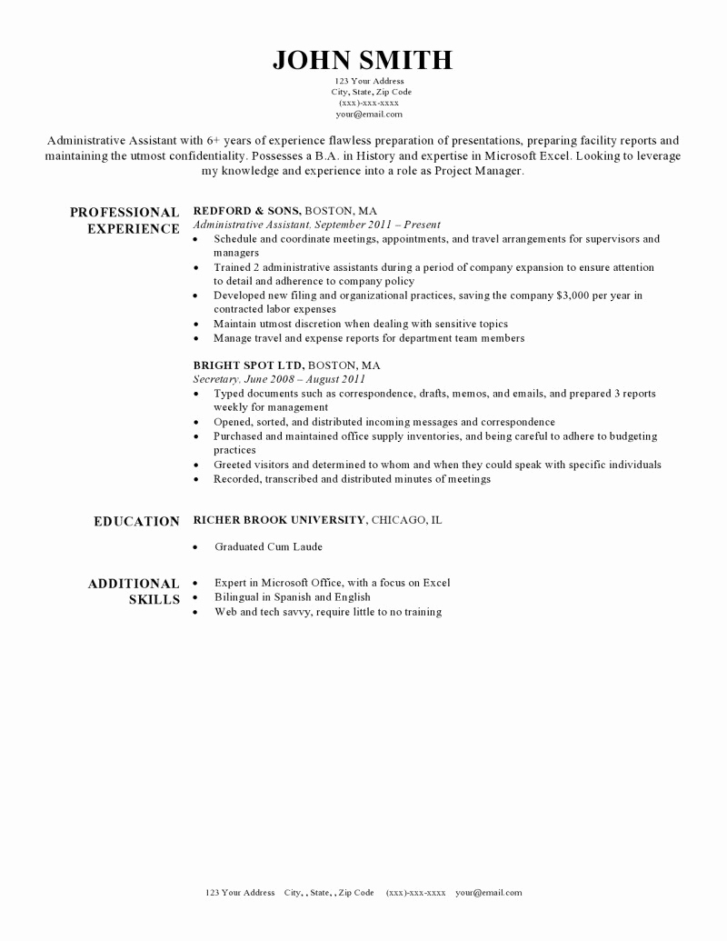 Resume with Picture Template Elegant Expert Preferred Resume Templates