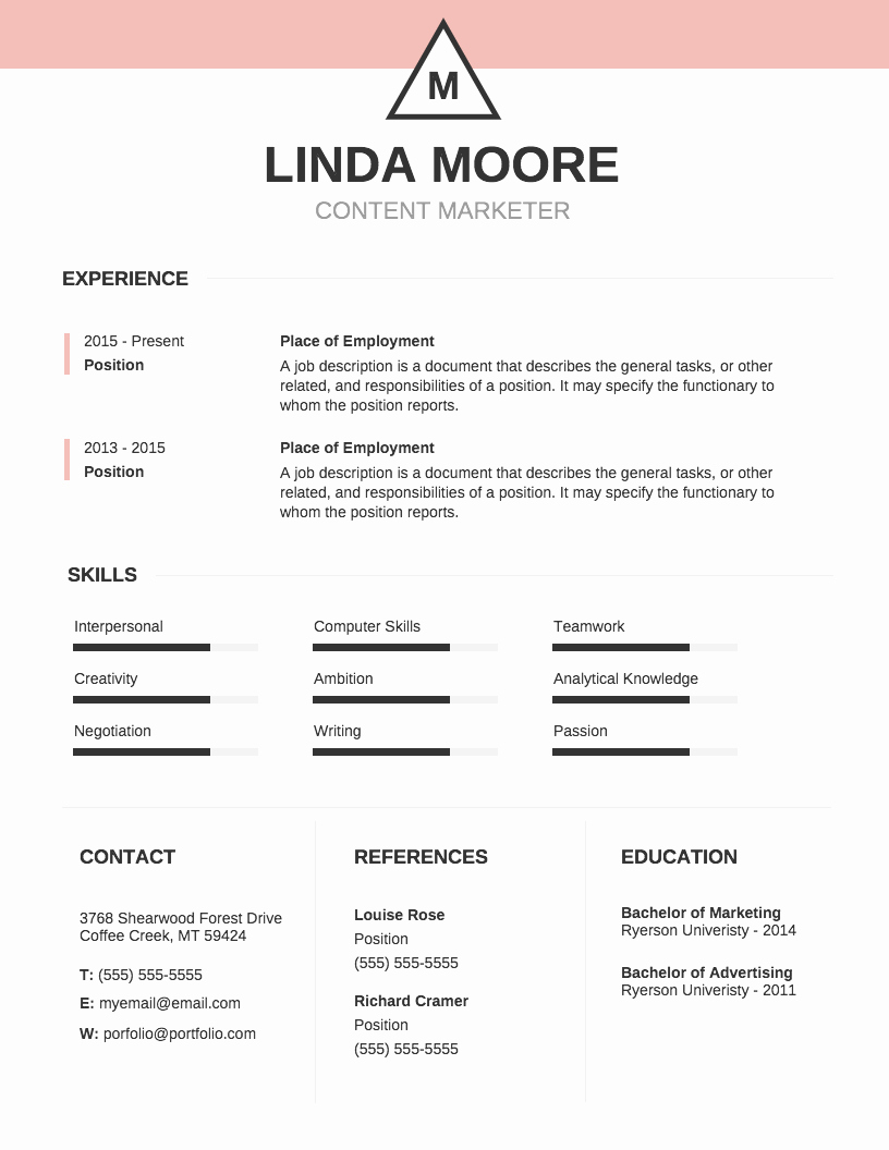 Resume with Picture Template Unique Infographic Resume Template Venngage