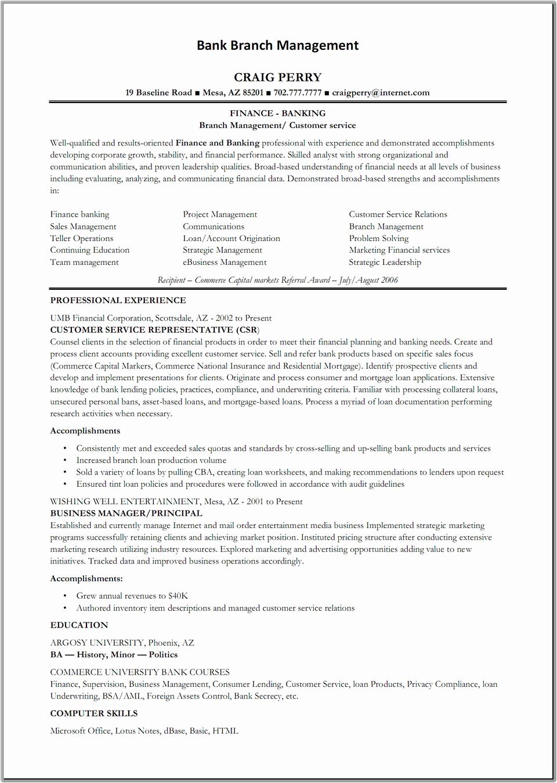 Resumes for Bank Teller Elegant How to Write Of Bank Teller Resume Sample