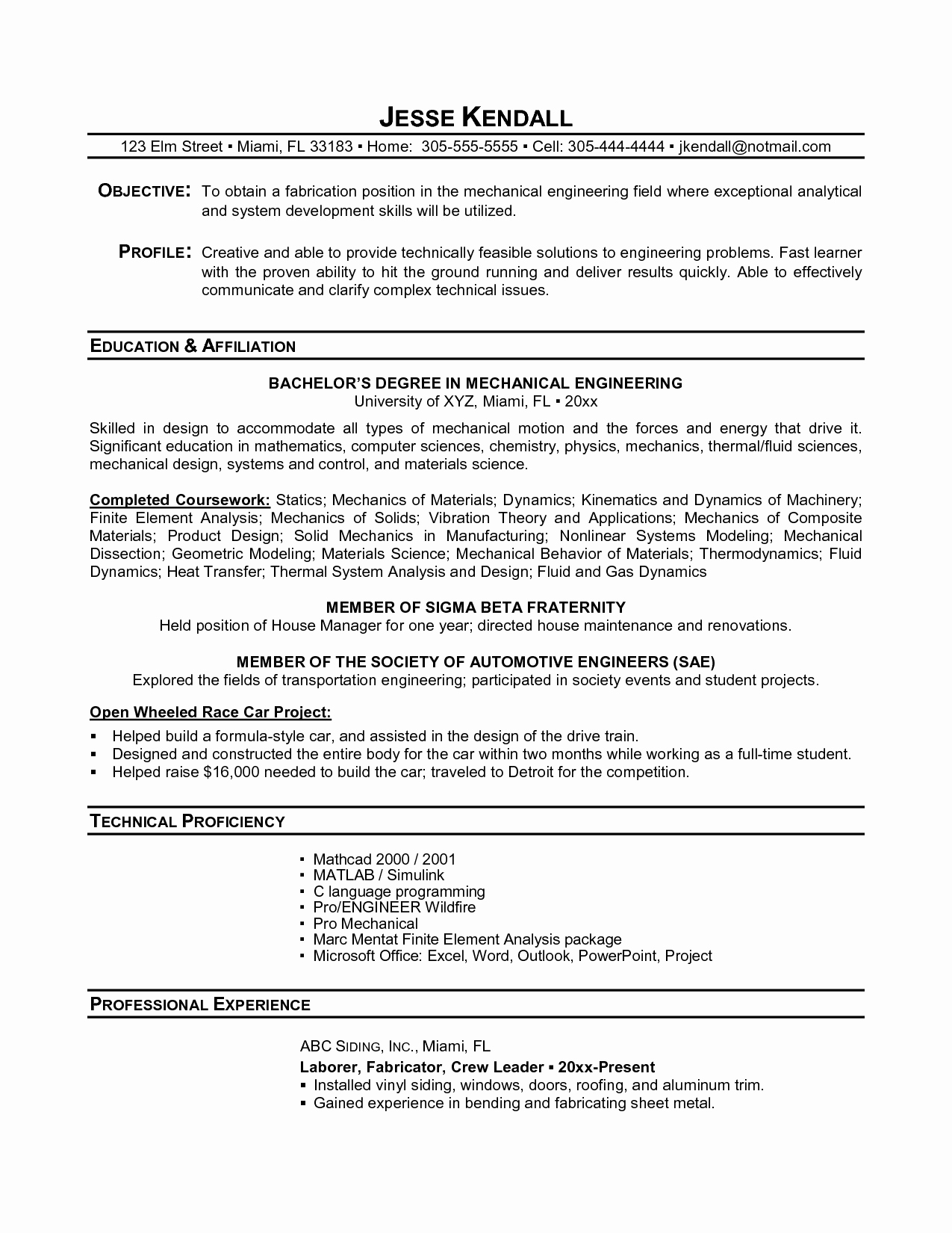 Resumes for High School Students Fresh Resume Examples Student Examples Collge High School