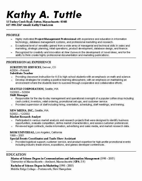 Resumes for High School Students Inspirational Resume Examples Student Resume Exmples Collge High School
