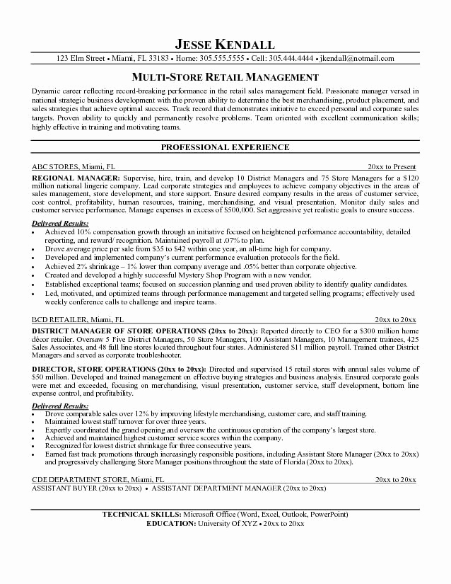 Retail Store Manager Resumes Best Of Best 25 Good Resume Objectives Ideas On Pinterest