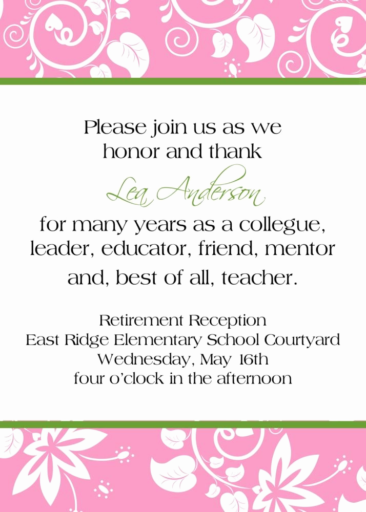 Retirement Party Invitation Templates Awesome 25 Best Ideas About Retirement Party Invitations On