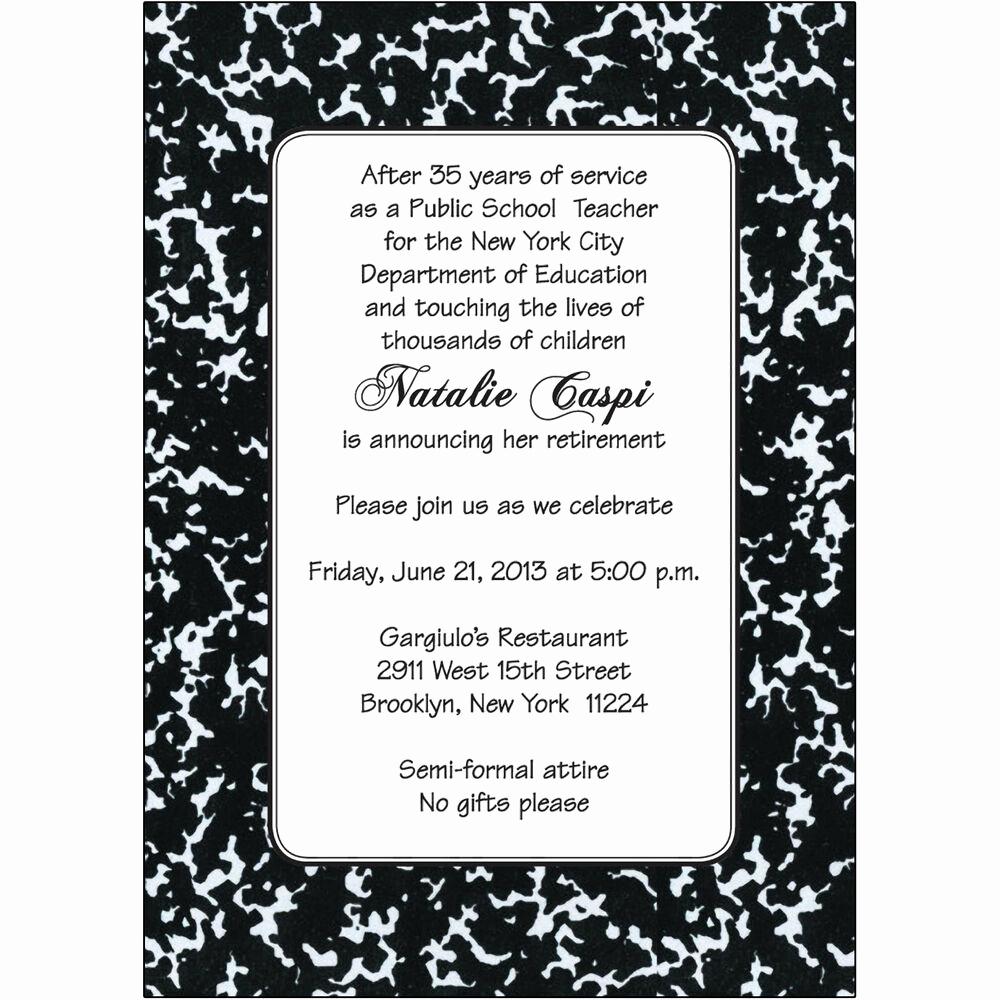 Retirement Party Invitation Templates Beautiful 25 Personalized Retirement Party Invitations Rpit 18