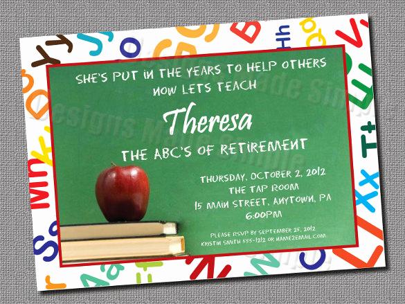 Retirement Party Invitation Templates Fresh 25 Retirement Invitation Templates Psd Vector Eps Ai