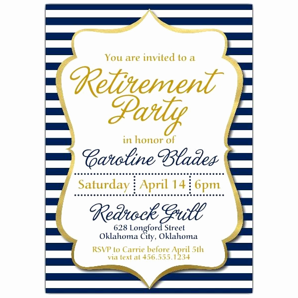 Retirement Party Invitation Templates Lovely Best 25 Retirement Invitations Ideas On Pinterest