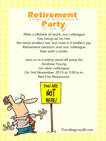 Retirement Party Invitation Templates Luxury Retirement Party Invitation Wording Ideas and Samples