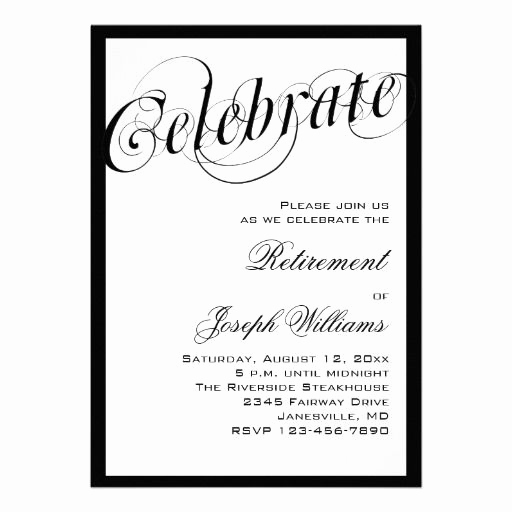 Retirement Party Invitation Templates New 15 Best Retirement Party Invitation Templates Images On