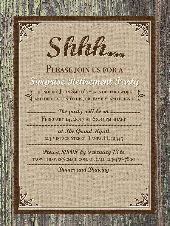 Retirement Party Invitations Template Beautiful 41 Best Retirement Invites Images On Pinterest