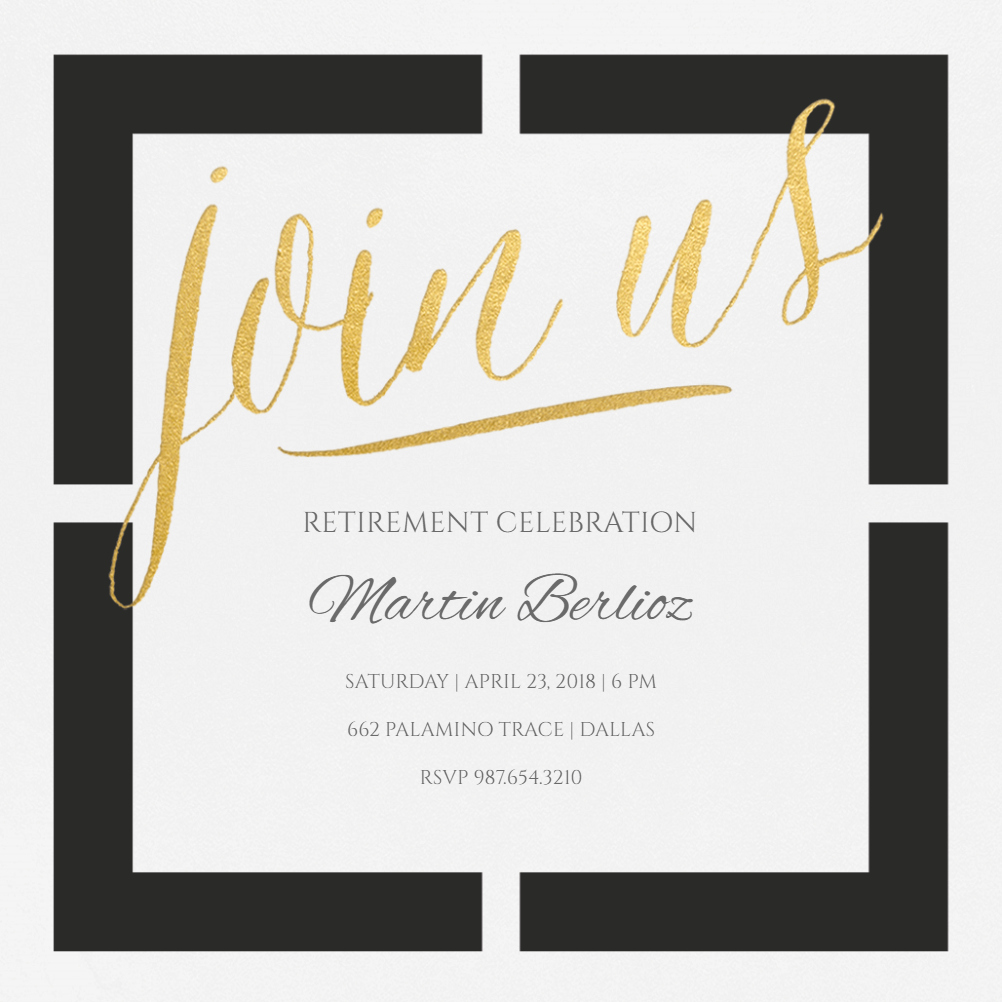 Retirement Party Invitations Template Beautiful Window Of Opportunity Free Retirement & Farewell Party