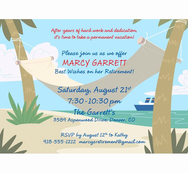 Retirement Party Invitations Template Best Of Retirement Invitations On Pinterest