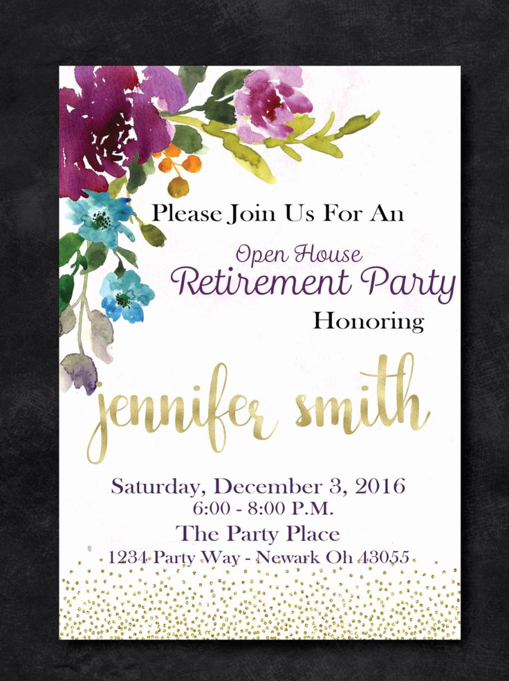 Retirement Party Invitations Template Luxury 1000 Ideas About Retirement Invitations On Pinterest