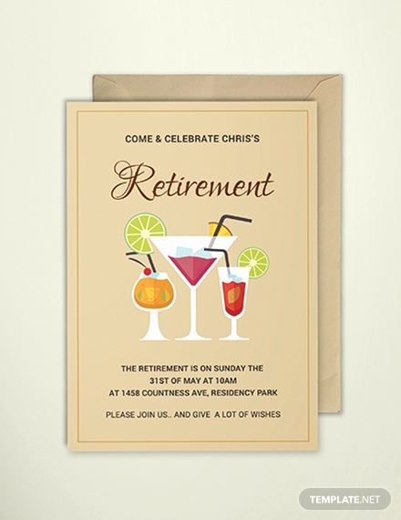 Retirement Party Invitations Template New Free Surprise Retirement Party Invitation Template