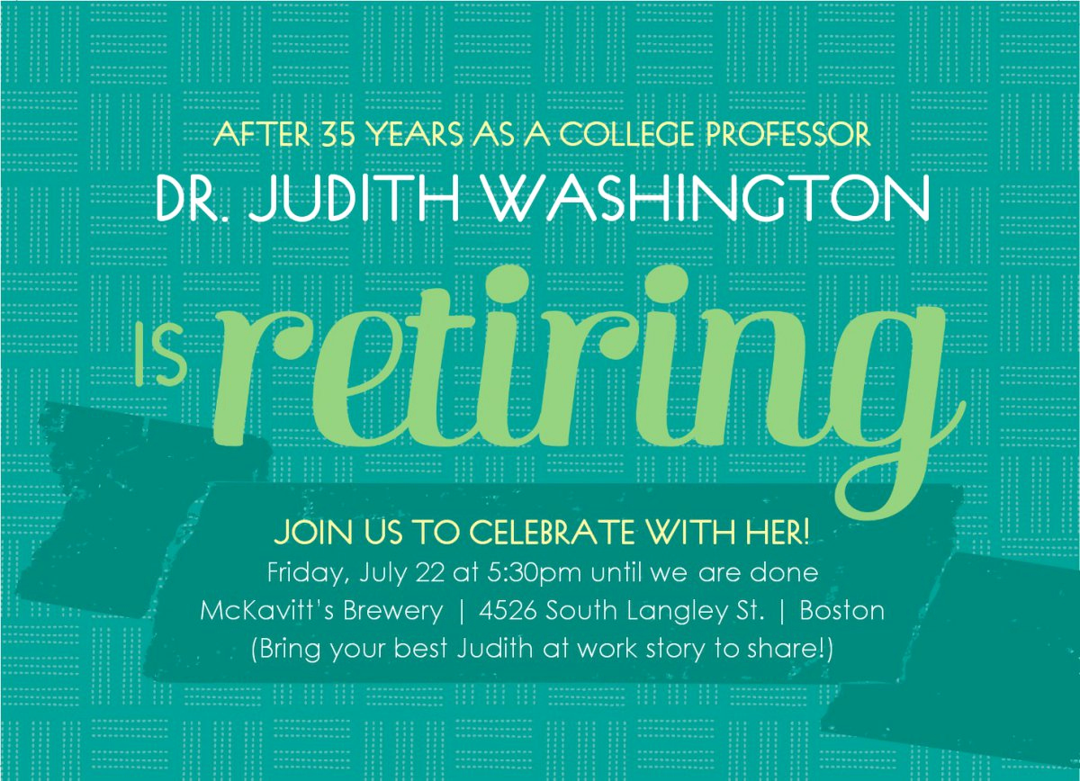 Retirement Party Invitations Template New Printable Retirement Invitations Free