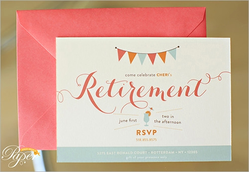 Retirement Party Invite Template Beautiful Sample Invitation Template Download Premium and Free