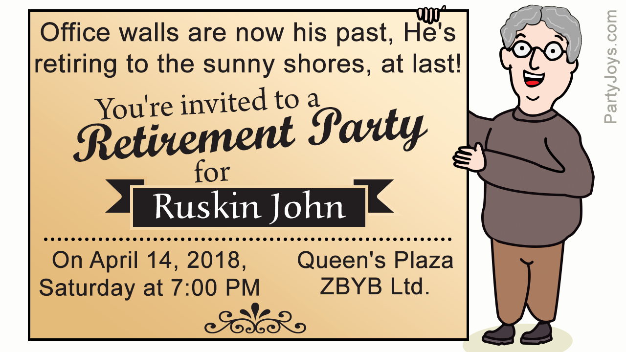 Retirement Party Invites Template Luxury Retirement Party Invitation Templates that are Quite