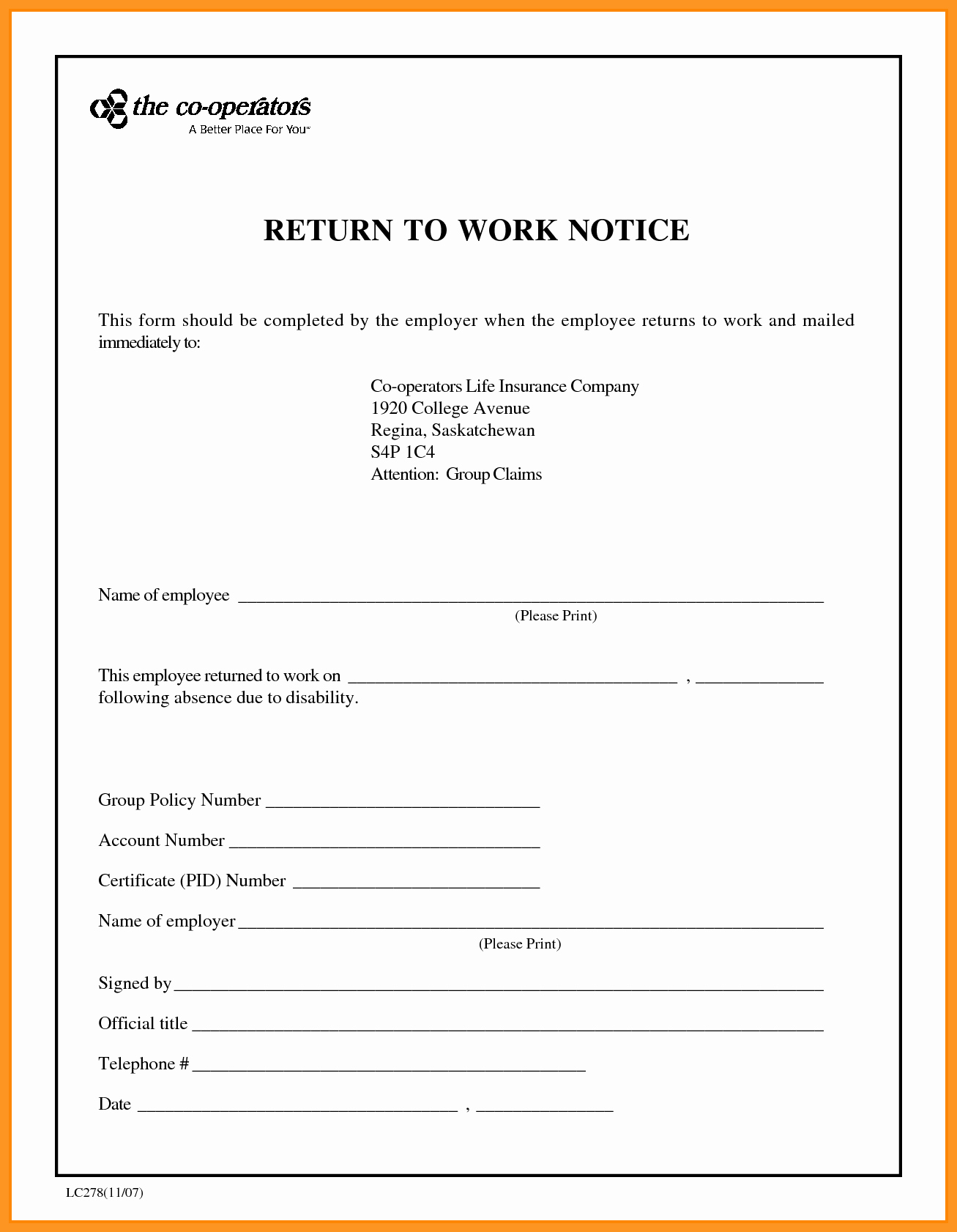 Return to Work Note Best Of Medical Return to Work Letter Sample