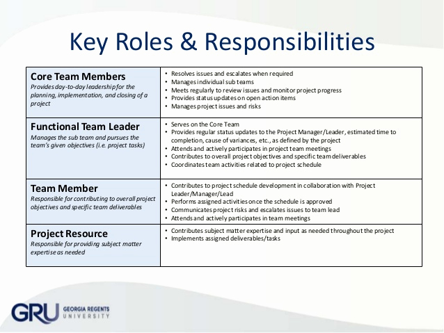 Roles and Responsibilities Template New organization Chart Roles & Responsibilities Matrix