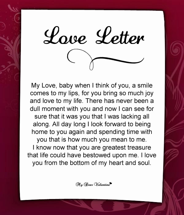 Romantic Letters for Her Elegant Love Letter for Her 57 Love Letters for Her