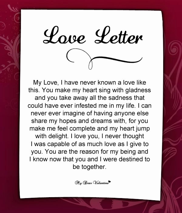 Romantic Letters for Her Fresh 10 Best Images About Love Letters for Her On Pinterest