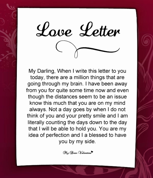Romantic Letters for Her Fresh are You Away From Her Do You Miss Her so Much This