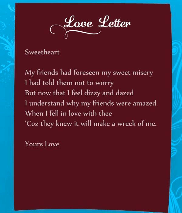 Romantic Letters for Her Lovely 20 Romantic Love Letters for Her