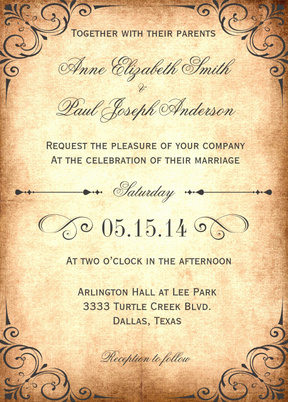Rustic Wedding Invitation Templates Fresh 28 Wedding Invitation Wording Templates – Free Sample