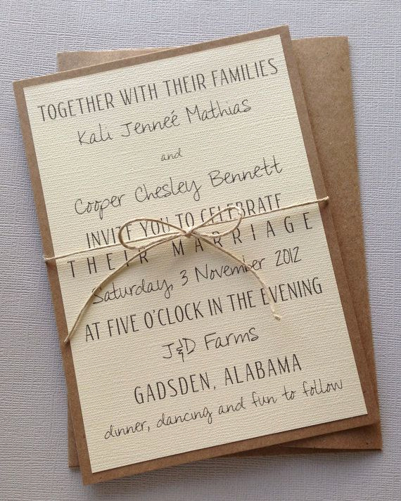 Rustic Wedding Invitation Templates Inspirational Best 25 Wedding Invitation Wording Ideas On Pinterest