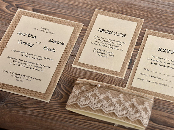 Rustic Wedding Invites Templates Lovely 28 Rustic Wedding Invitation Design Templates Psd Ai