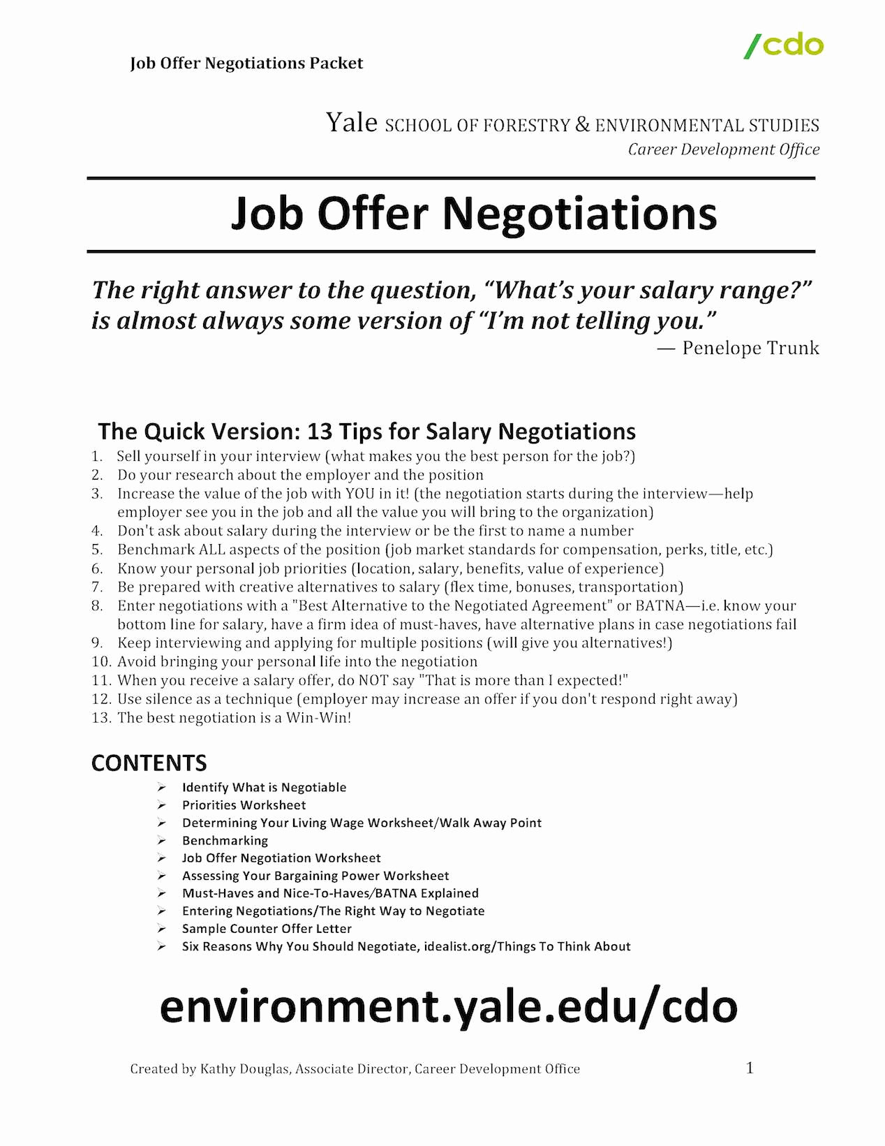 Salary Counter Offer Letter Awesome Salary Negotiations