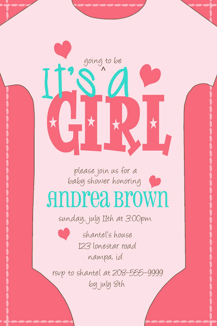 Sample Baby Shower Invitations Awesome Kayleigh S Kreations Esie Baby Shower Invitation for