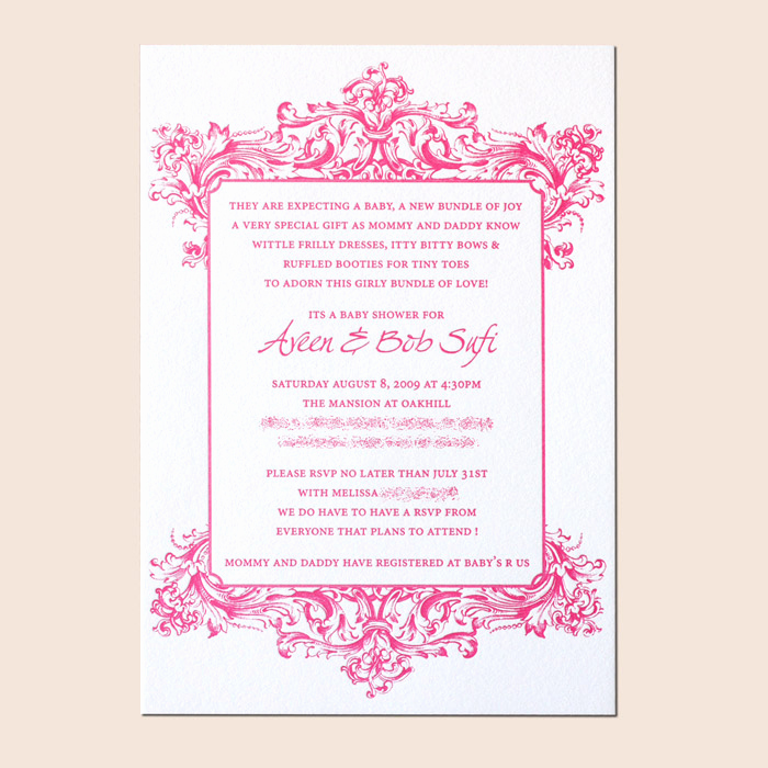 Sample Baby Shower Invitations Beautiful Sample Invitations for Baby Shower Party Xyz