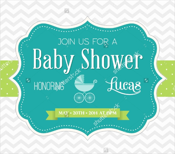 Sample Baby Shower Invitations Fresh 25 Sample Baby Shower Invitations Word Psd Ai Eps