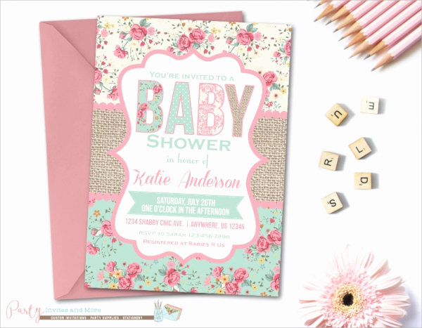 Sample Baby Shower Invitations Lovely 25 Sample Baby Shower Invitations Word Psd Ai Eps