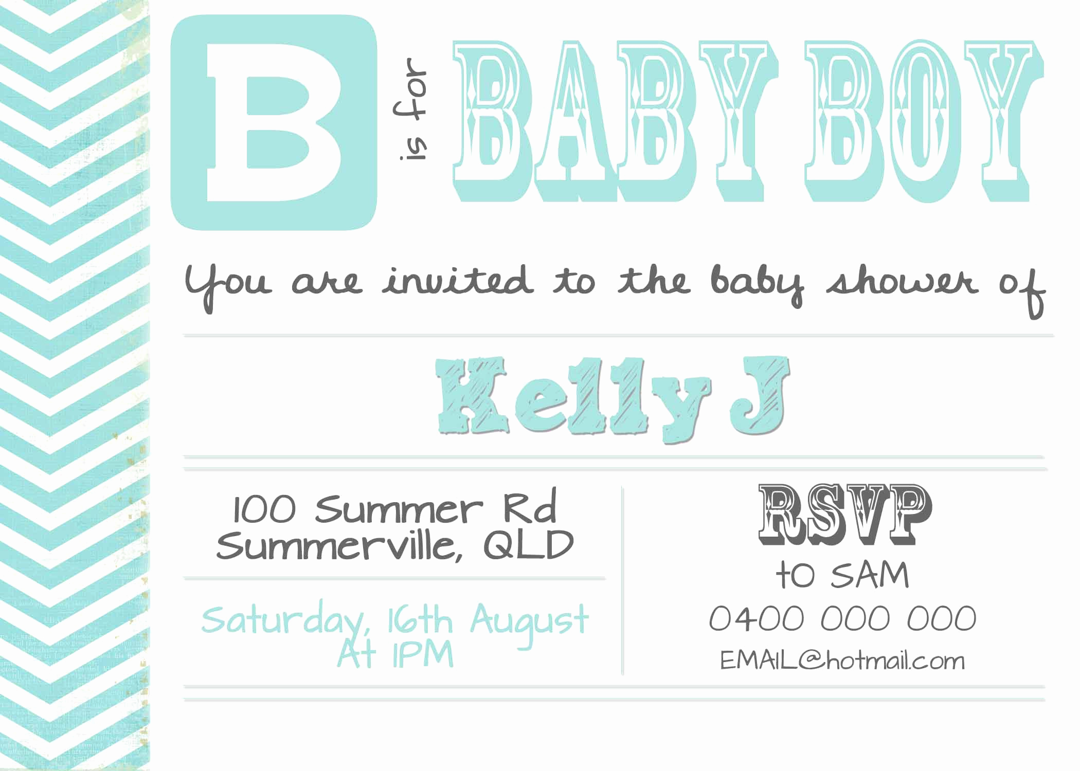 Sample Baby Shower Invitations New Diy Digital Baby Shower Invitation