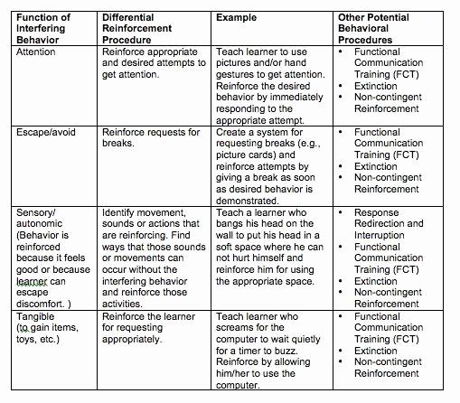 Sample Behavior Intervention Plan New Example Of An Intervention Plan Lg