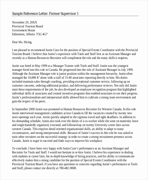 Sample College Recommendation Letter Best Of 6 College Reference Letter Templates Free Sample