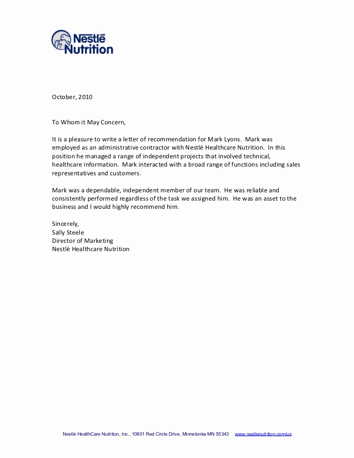 Sample College Recommendation Letter Best Of Tips for Writing A Letter Of Re Mendation