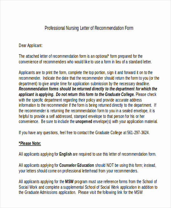 Sample College Recommendation Letter Inspirational 89 Re Mendation Letter Examples & Samples Doc Pdf