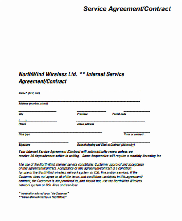 Sample Contract for Services Unique Simple Service Contract Sample 19 Examples In Word Pdf