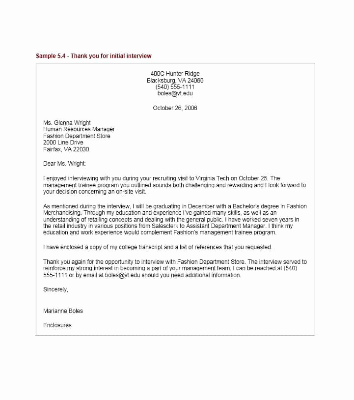 Sample Email after Interview Beautiful 40 Thank You Email after Interview Templates Template Lab