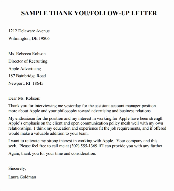Sample Email after Interview Unique 10 Sample Follow Up Email after Interview Pdf Doc