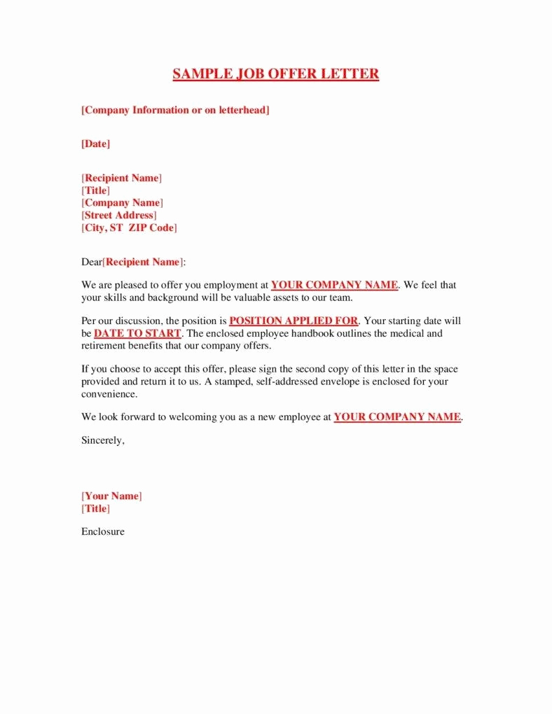 Sample Job Offer Letter Fresh the Great Importance Of Hiring the Right Employees