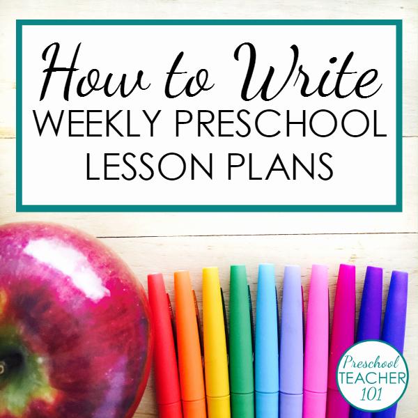 Sample Lesson Plan for Preschool Beautiful Preschool Lesson Plan Template for Weekly Planning