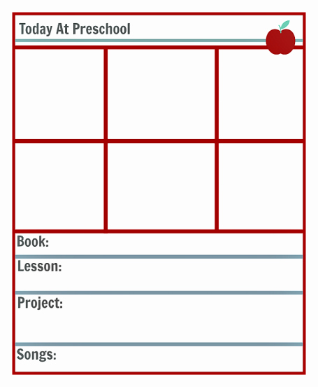 Sample Lesson Plan for Preschool Elegant Preschool Lesson Planning Template Free Printables No