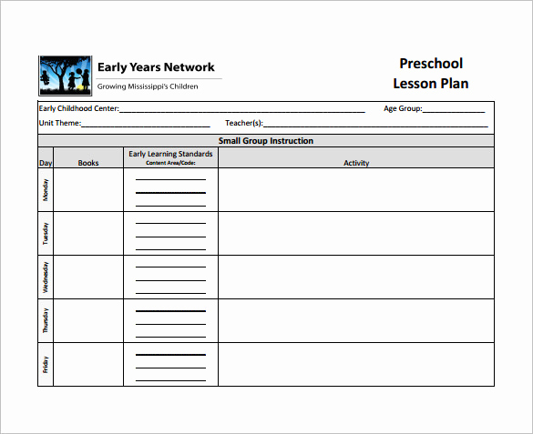 sample teacher lesson plan